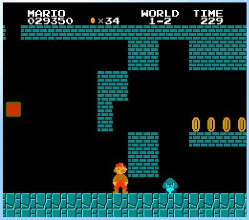 Javascript Super Mario Bros + Complete Level 1 and 2 + Map Editor
